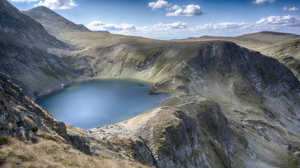One of the Seventh Rilla's lakes in Bulgaria