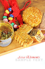 Asia tea time elements
