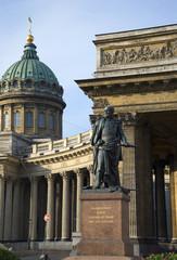 Памятник фельдмаршалу Бараклаю де Толли у Казанского собора