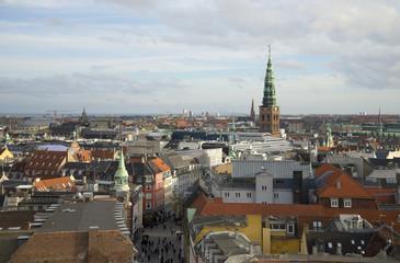 Вид на Копенгаген с Круглой башни