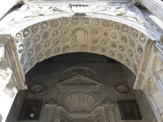 Castel Dell'Ovo Door Arch detail, Naples, Italy