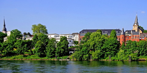 ESSEN-KETTWIG - Stadtpanorama