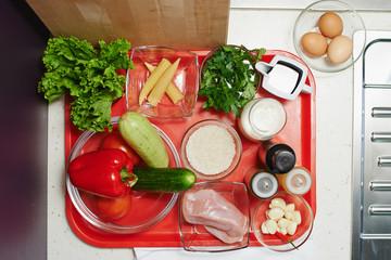 Подготовка еды