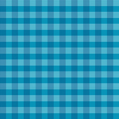 Blue Vector Abstract Retro Square Tablecloth Seamless Pattern