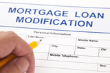 Mortgage Loan Modification form poster