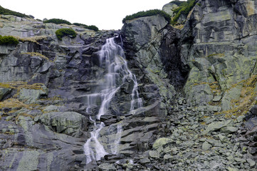 WATERFALL SKOK IN THE MLYNICKA  VALLEY