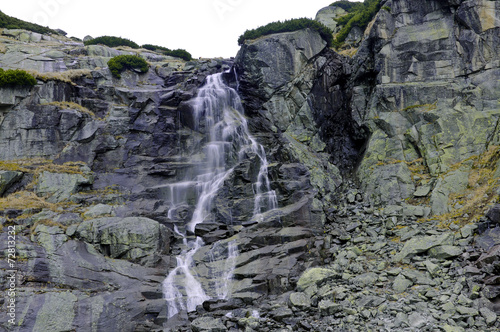 canvas print picture WATERFALL SKOK IN THE MLYNICKA  VALLEY