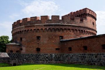 Старый форт Дона в Кёнигсберге.
