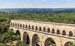 canvas print picture - Pont du Gard - France