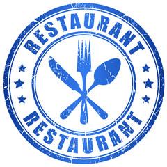 Restaurant stamp