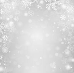 Weihnachten Winter Hintergrund Schnee grau