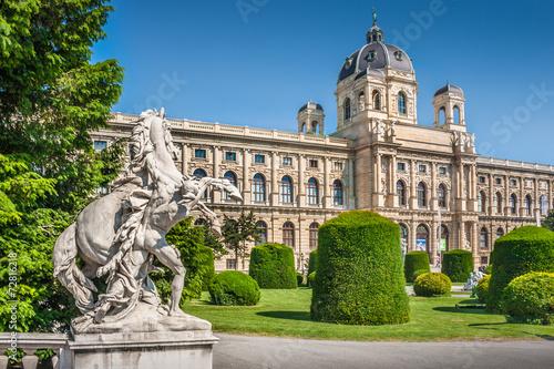 Foto Spatwand Wenen Natural History Museum, Vienna, Austria