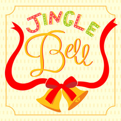 jinger bell lettering card