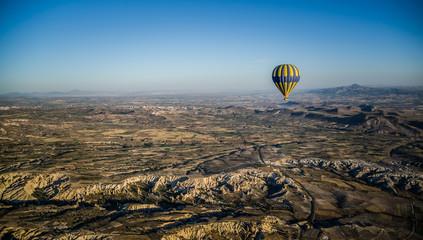 Hot air balloon in Goreme, Cappadocia, Turkey