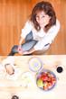 Am Frühstückstisch
