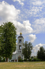 scenic view of the church