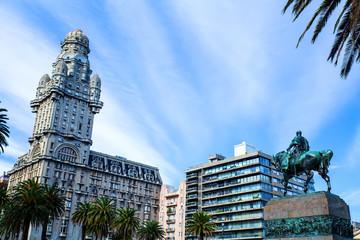 Plaza Independencia in Montevideo