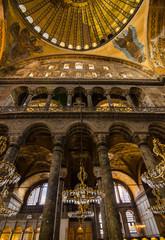 Hagia Sophia or Ayasofya Museum , Istanbul , Turkey