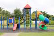 Children's playground at park - 72819806