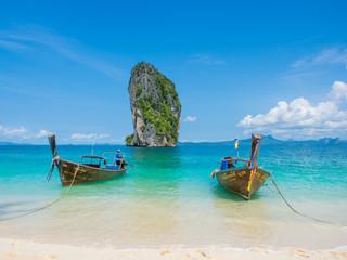 Boat Phranang beach Thailand
