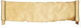 středověký svitek pergamenu