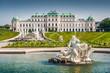 Schloss Belvedere in Vienna, Austria