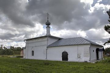 Никольская церковь (1712). Суздаль, Золотое кольцо России.