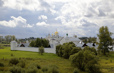 Покровский монастырь. Суздаль, Золотое кольцо России.