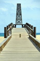 Aussichtspunkt am Strand von Port Leucate 1