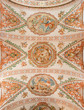 Seville - Ceiling fresco in church Hospital de los Venerables