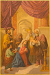 Obrazy na płótnie, fototapety, zdjęcia, fotoobrazy drukowane : Seville - Presentation of Jesus in the Temple in Macarena church