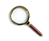 Fototapety Magnifying glass