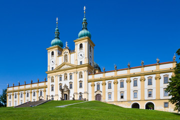 basilica minor Svaty Kopecek near Olomouc, Czech republic