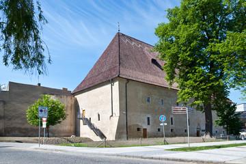 githic castle Litomerice, Bohemia, Czech republic