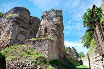 castle Helfenburg near Ustek, Litomerice region, Czech republic