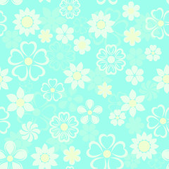 flowers background seamless