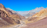 Vast canyon in Spiti valley, India  poster