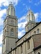 Basilika Großmünster in ZÜRICH ( Schweiz )