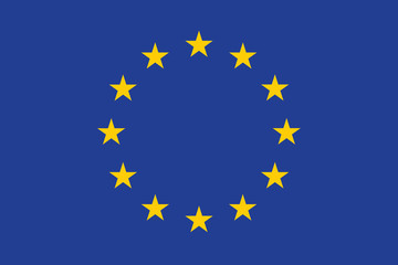 Official EU flag (approved colors and proportions)