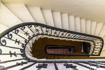 stairway in Rabbat hotel