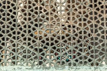 Metal fence, Istanbul, Turkey