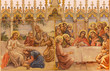 Frescos - Last supper and Jesus and sinful woman