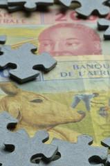 Franco CFA CFA-Franc-Zone CFA Franc Africa African money
