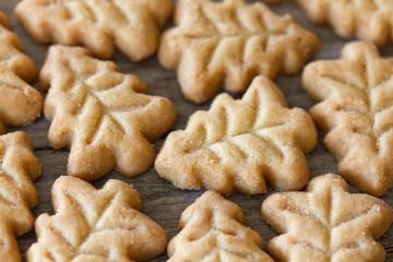 Christmas Tree Shaped Cookies
