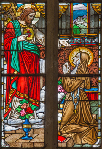 Trnava - The Heart of Jesus appearing to st. Mary Alacoque - 72830639