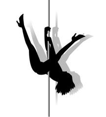 lap dance silhouette