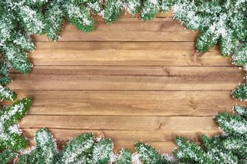Weihnachtlicher Holz-Hintergrund