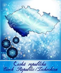 Karte von Tschechien
