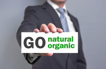 go natural & organic