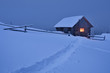 Fabulous house in the snow - 72834868